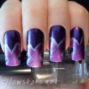 A mani created for the 30 Days of Untrieds challenge. To find out more please visit http://glowstars.net/lacquer-obsession/2012/09/30-days-of-untrieds-violet