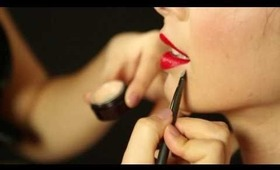 VioletArtistry -Picture Perfect Red Lips