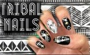HOW TO: Tribal nails using Sally Hansen nail polish strips