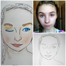 Custom Face Chart: Anne-Marie