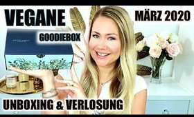 Goodiebox limited Editon Vegan März 2020 | UNBOXING & VERLOSUNG