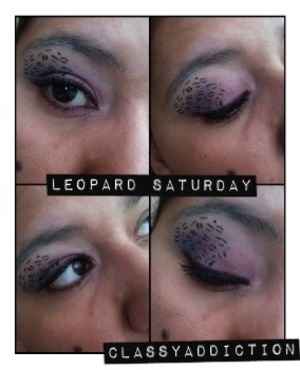 My version of Leopard Eyes