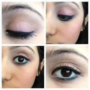 Used too faced matte eyes only using the vase colors