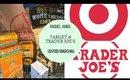 US SNACKS Trader Joes & Target Haul