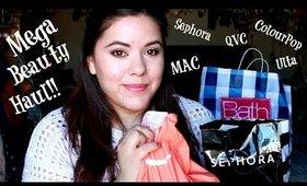 Mega Beauty Haul!! (MAC, Sephora,QVC, Ulta, ColorPop +More!)