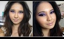Dramatic Purple Eye Makeup Tutorial