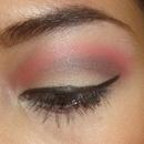Black and Red Smokey Eye
