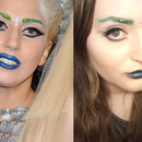 Lady Gaga inspired make up