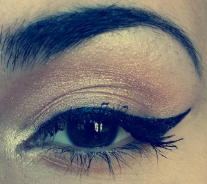 Eye look I did for today