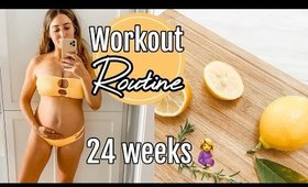 PREGNANCY WORKOUT ROUTINE  + Couples self care!