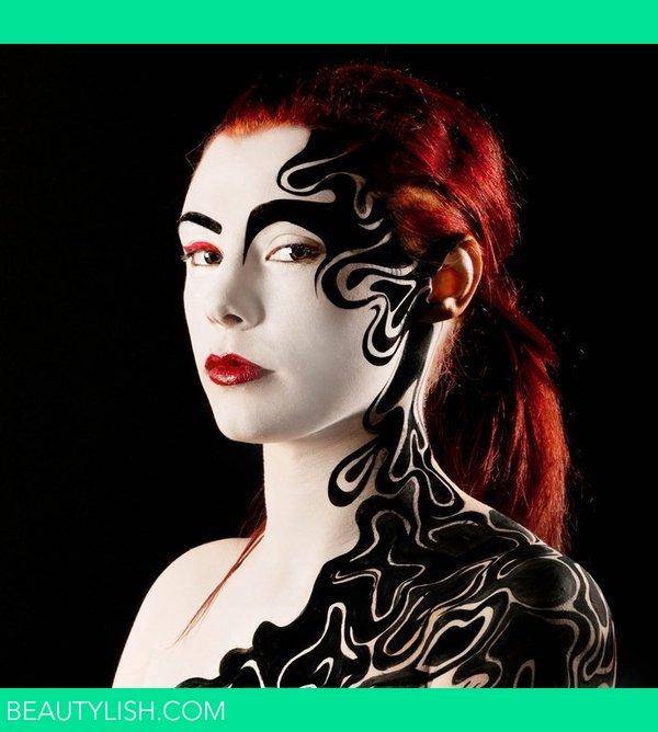 Alex Box Inspired Body Paint Marie M S Photo Beautylish