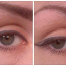 Winged liner step by step