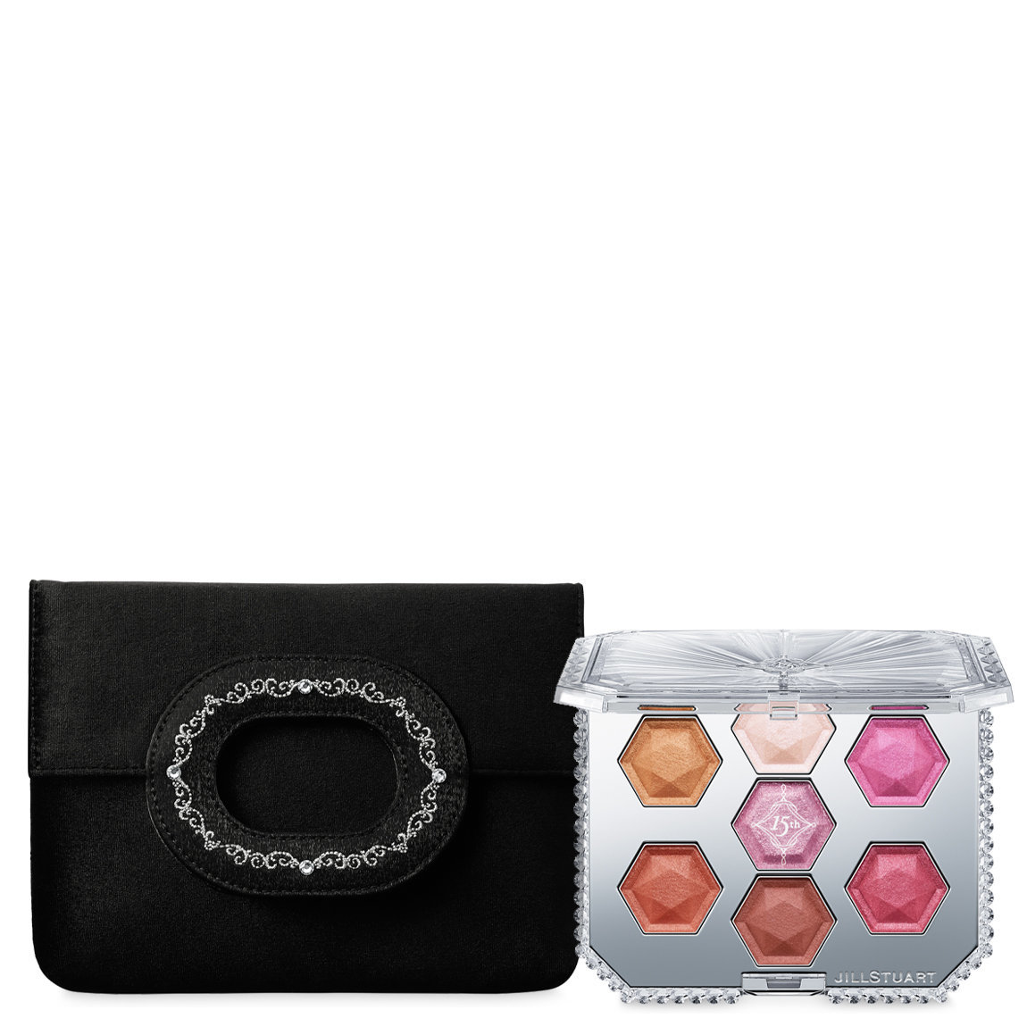 JILL STUART Beauty 15th Anniversary Eyeshadow Compact alternative view 1 - product swatch.