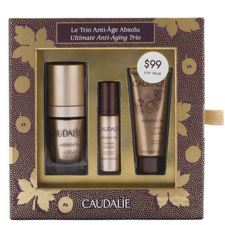Caudalie Premier Cru Ultimate Anti Aging Trio Set