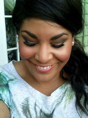 A look I did doing the original naked palette:)