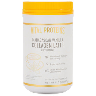 Vital Proteins Collagen Latte - Madagascar Vanilla