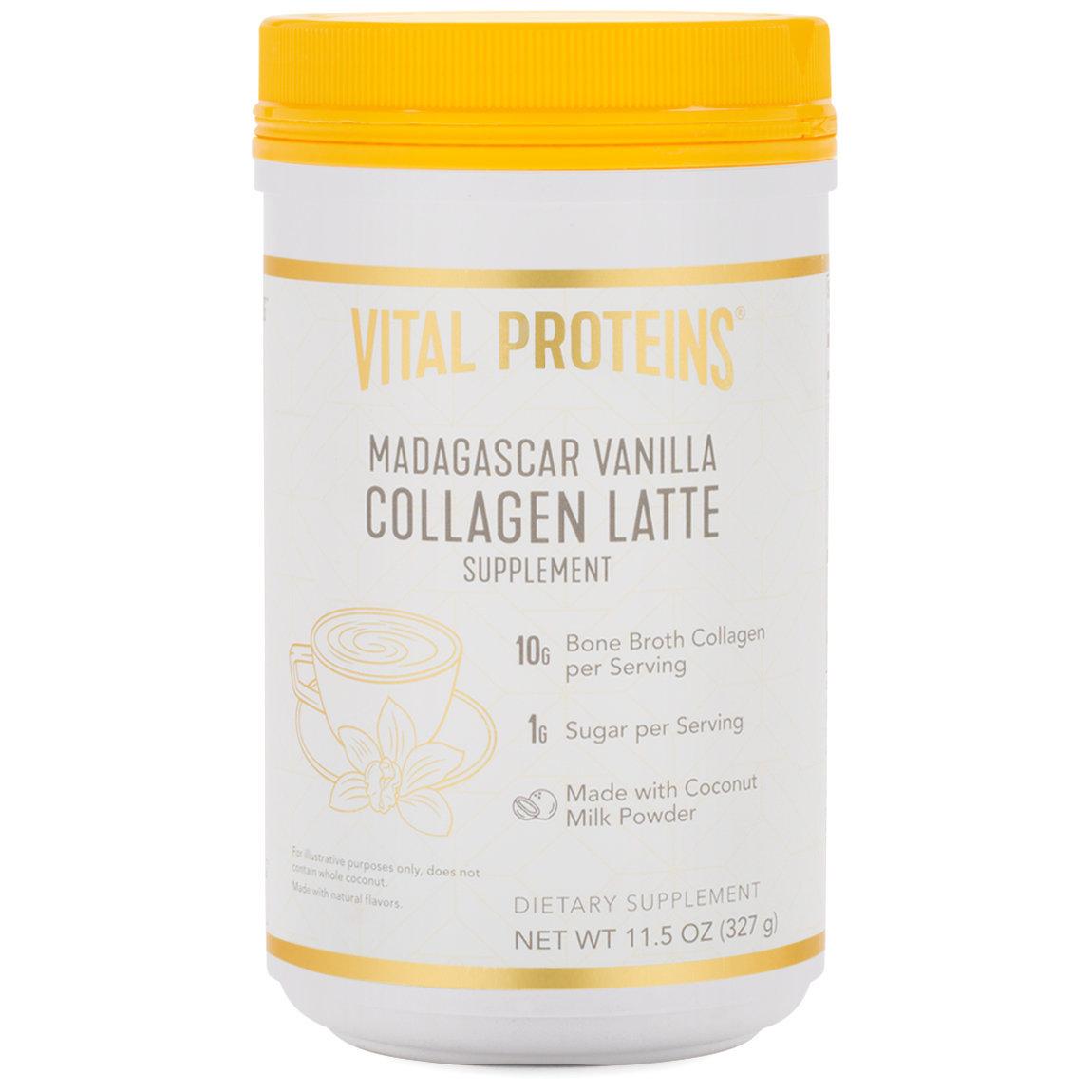 Vital Proteins Collagen Latte - Madagascar Vanilla alternative view 1 - product swatch.