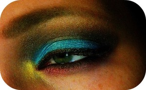 Amerind Susteritation Close Up Eye 3