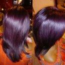 deep intense violet
