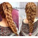 Five Strand Braid 2 In 1 Style