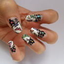 Butterfly Tips Nails