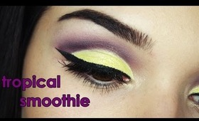 Tropical Smoothie makeup tutorial