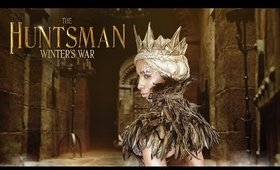 The Huntsman: Winter's War - Evil Queen Ravenna Makeup Tutorial (Charlize Theron) Gold leaf