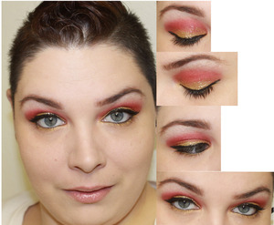A look I did on my YouTube here is the link: http://www.youtube.com/watch?v=A9aO_xVgbdA