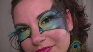 My version of Cora's Peacock Masquerade