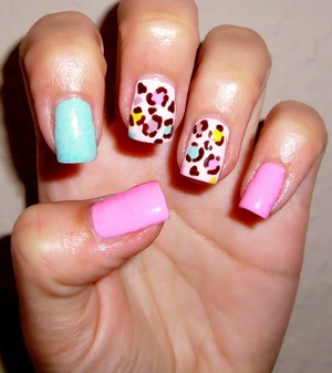 I just love these colors! <3