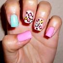 Colorful Leopard