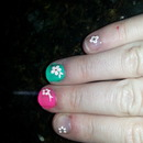 Flowery Nails :-)