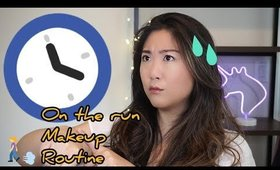 On The Run Makeup Routine