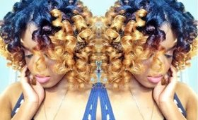 Natural Hair | HEATLESS CURLS !