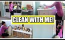 QUICK CLEAN WITH ME! Kids Room
