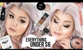 Everything Under $6 Makeup Tutorial | Smokey Cat Eye / Fox Eye