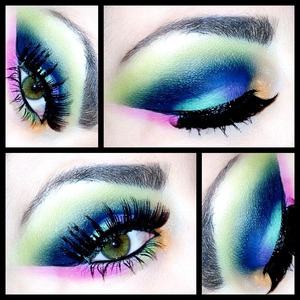 Follow me on Instagram for a new makeup look every single day! @makeupmonsterkiki