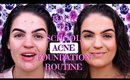 BTS DRUGSTORE Acne Foundation Routine