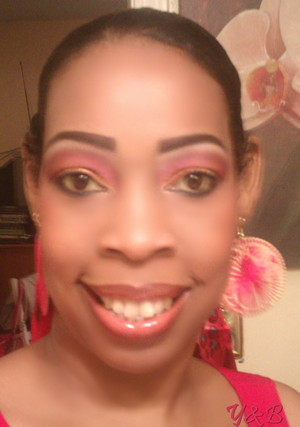 Bright golds, reds, and orange inspired by an island sunset