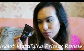 Inglot Mattifying Primer Review | chiclydee