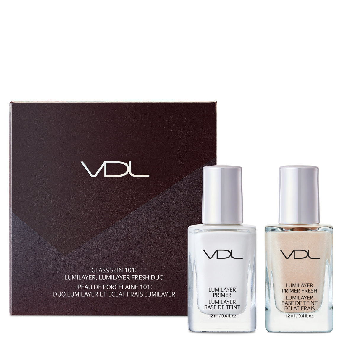 VDL Glass Skin 101: Primer Duo alternative view 1 - product swatch.