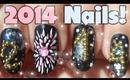 3D 2014 Caviar & Fireworks Nail Art Tutorial