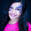 Kayli's Pretty Tribal eyes....