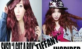 SNSD 소녀시대 I GOT A BOY MV TIFFANY INSPIRED LOOK (少女時代TIFFANY仿妝)