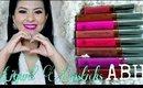 LABIALES LIQUIDOS Anastasia Beverly Hills Liquid Lipstick Review and Swatches AnabellAnnaGrey