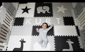 My Baby's Spacious Playpen | From Amazon & SoftTiles