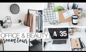 Office Tour & Organisation - Beauty Room & Filming Set Up