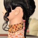 Futuristic Boyish Braiding Combination