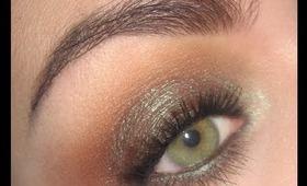 Fall makeup tutorial : Warm brown smoky
