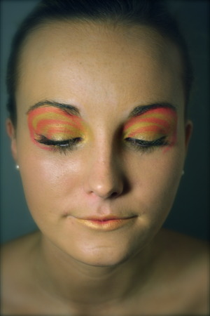 Make up inspired by the English sweet, the Fruit Salad